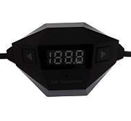 3.5mm rómbico transmisor inalámbrico de audio FM para SmartPhone, MP3 y MP4