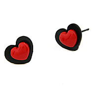 Double Love Stud Earring