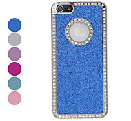 Diamond Frame Shimmering Powder Hard Case for iPhone 5/5S (Assorted Colors)