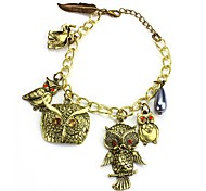 Classic Owl's Party Bracelet