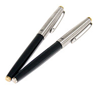Extra-fine Silver Pen Cap Fountain Pen