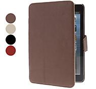 modèle de litchi cuir PU cas de tout le corps pour Mini iPad 3, iPad Mini 2, iPad mini (couleurs assorties)