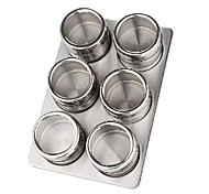 Stainless Steel Spices Shaker Set