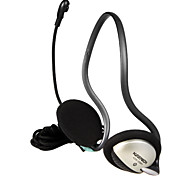 KEENION Fashionable Stereo On-Ear Earphone with Remote Control306(Black)