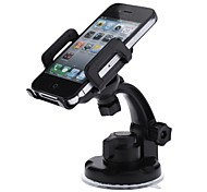 Universal Plastic Car Swivel Mount Holder with Suction Cup for Cell Phone/GPS