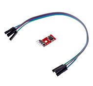 AT24C256 I2C EEPROM Storage Module for Intelligent Car - Red + Black