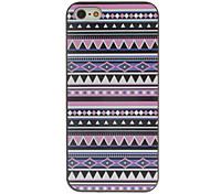 caso del patrón púrpura tonos de color de dibujo negro marco dura de la PC para el iphone 5/5s