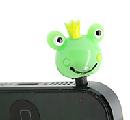 Plastic Frog Pattern Anti-dust Plug