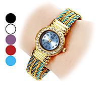 Frauen stilvoll, Stil-analoge Quarz-Armbanduhr (farbig sortiert)