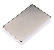 DIY Square NdFeB Magnet - Silver (30 x 20 x 5mm)