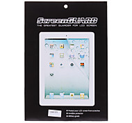 Quality 2 X LCD Screen Protector with Cleaning Clothes for iPad 2/3/4