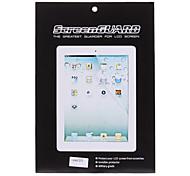 Qualità 2 X LCD Screen Protector con i vestiti di pulizia per iPad 2/3/4