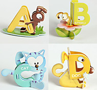 26PCS 26 Letters 3D Animals Puzzles Early Education