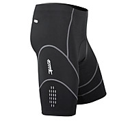 Santic Men's Cycling Shorts/bike shorts/chamois Black MC05034  Coolmax BreathablePants - Black