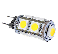 1.5W G4 Bombillas LED de Mazorca T 9 SMD 5050 120 lm Blanco Natural DC 12 V