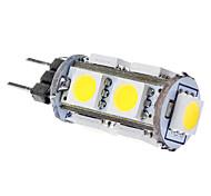 Bombillas LED de Mazorca T G4 1.5W 9 SMD 5050 120 LM Blanco Natural DC 12 V
