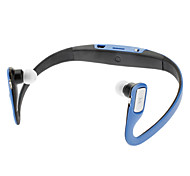 Azul Sport MP3 Player con auriculares FM