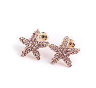 Starfish Shape Earrings