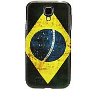 Braziliaanse patroon IMD Hard Case voor Samsung Galaxy S4 I9500