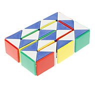 Snake Style Colorful Plastic Magic IQ  Cube