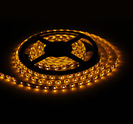 Impermeable los 5M 18W 300x3528 SMD Yellow Light Lámpara LED Strip (12V, IP44)
