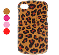 Warm-toned Leopard Print PC Hard Case for BlackBerry Q10 (Assorted Colors)