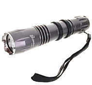 LED Flashlights / Handheld Flashlights LED 4 Mode 330 LumensAdjustable Focus / Waterproof / Rechargeable / Impact Resistant / Strike