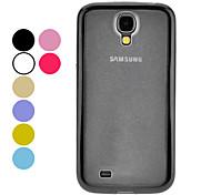 TPU und PC 2 in 1 Hard Case und Mirror Screen Protector für Samsung Galaxy i9500 S4 (verschiedene Farben)