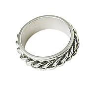Z&X®  Unique Titanuim Steel Man Ring