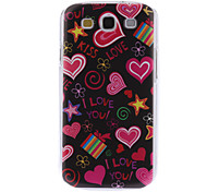 Colorful Pattern Hard Case for Samsung Galaxy S3 I9300