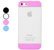 DEVIA Transparent High Quality PC Hard Case for iPhone 5/5S (Assorted Colors)