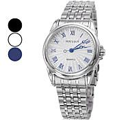 Men's Wrist Steel Analog Quartz Watch (Assorted Colors)