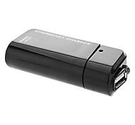 Noir USB chargeur de secours 2.0 avec câble de données pour Samsung Mobile Phone