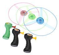 LED Flash Light UFO Flying Saucer Toys (Random Color)