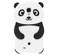 Panda Design Silikon Soft Case für Samsung Galaxy i9500 S4