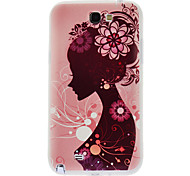 Busto Funda Girl para Samsung Galaxy Note N7100 2