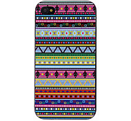 Various Shapes Graphic Decaled PC Hard Case for iPhone 4/4S