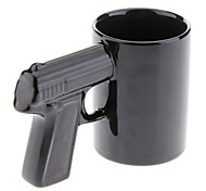 Gun Style Handle Ceramic Cup