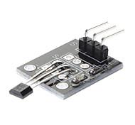 (Para arduino) Módulo de sensor magnético de efecto Hall (5v dc) - negro
