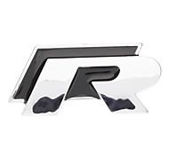 Cool 3D R-line Chrome Car Logo/ Symbol/ Mark/ Signs Universal Sticker