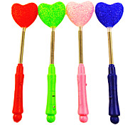 Flexible 3-Mode Flashing Loving-heart Wand (Random Color)