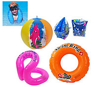 Kid's PVC Swim Ring Set(4PCS)
