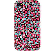 Custodia rigida, con fantasia floreale per iPhone 4/4S