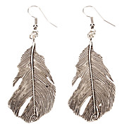 Wind Marks Feather Alloy Earring