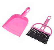 Portable Dog Poop Cleaning Kit Broom and Dust Pan per animali