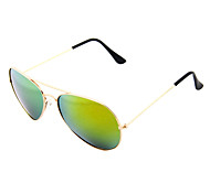 Unisex TAC Lens Color Coating Full-Rim Pilot Sunglass 9767A(Assorted Colors)