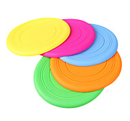 Soft Silica Gel Flying Disc for Dogs(Random Color)