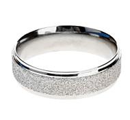 Silver Matt Stainless Steel Ring