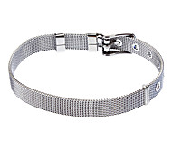 8mm Stainless Steel Mesh Belt Surface Ladies Bracelet