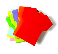 T-shirt Shaped Self-stick Note(100 Pages Random Color)